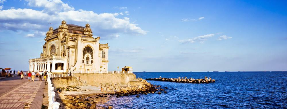 Casino Constanta in Summer
